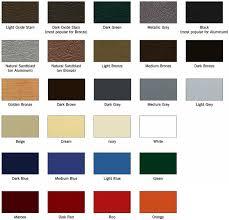 paint colors standard paint colors matthews bronze international paint sles