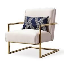 linen chair modern linen accent chairs allmodern