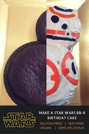 diy star wars birthday party ideas how to make a bb 8 star wars cake