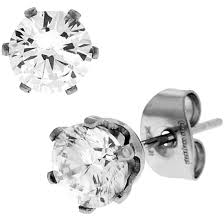 stainless steel stud earrings stainless steel earrings bodycandy