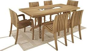Teak Dining Room Set Outdoor Round Teak Dining Table M4n Patio Collection