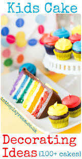 kids cake decorating ideas in the playroom