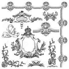 draw vintage sketch ornamental design element of lviv