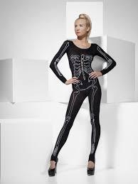 Skeleton Jumpsuit Skeleton Bodysuit 43572 Fancy Dress Ball