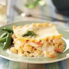 thanksgiving lasagna recipe seafood lasagna recipe taste of home