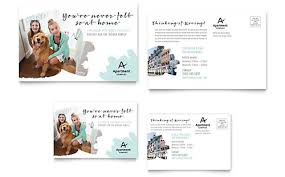 free microsoft word postcard template real estate postcard templates word u0026 publisher
