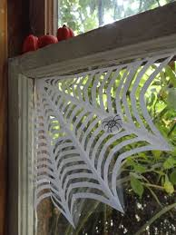 how to make a spider web for halloween how to window corner spider web india u0027s roses