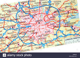 Map Of Kent England by England Road Map Stock Photos U0026 England Road Map Stock Images Alamy
