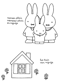 miffy flower coloring pages google zoeken grafischgraag
