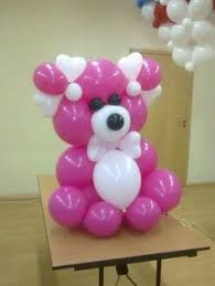 balloons and teddy bears balloon teddy for valentines day gift