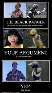White Power Meme - white power ranger