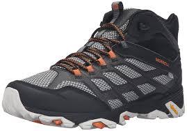 merrell j35747 moab fst mid waterproof hiking boots mens black 12