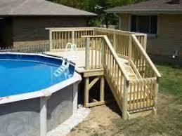 good above ground pool decks kits part 3 good above ground pool