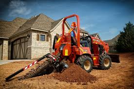 attachments plus ride on trenchers equals more utilization