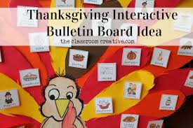interactive thanksgiving turkey bulletin board