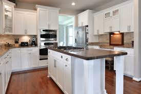 light grey kitchen cabinets with wood countertops spotlight on wood countertops k s renewal systems llc