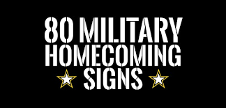 homecoming ideas welcome home signs ideas for homecomings
