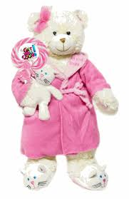 get well soon teddy well soon plush with whirly pop