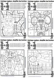 coloriage magique les tables de multiplication ecole