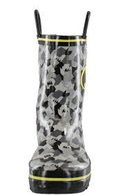 dc comic batman rubber cold weather boys rain boots free shipping