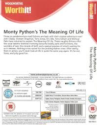 Suitable Meaning by Dvd Monty Python U0027s The Meaning Of Life Woolworths Uk