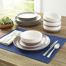 Pottery Barn Dishes Better Homes And Garden Ashmoor 12 Piece Dinnerware Set Walmart Com