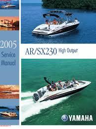 yamaha 2006 service manual ar230 throttle