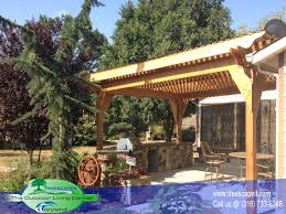 Pool With Pergola by Pool Houses U0026 Pergolas Treescapeit The Outdoor Living Center