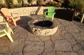 Patio Paver Kits Exquisite Circle Patio Paver Kits From Flagstone Shaped Tile With