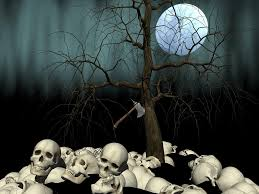 skull moon tree free photo on pixabay