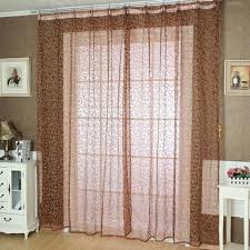pteris window screens curtains door balcony curtain panel sheer