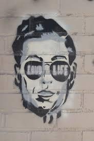 face graffiti male new york stencil human representation