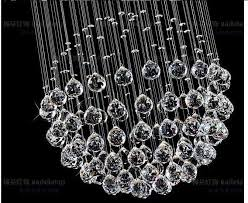 Glass Balls Chandelier 204pcs Lot 30mm Clear Crystal Chandelier Ball Fengshui Crystal