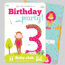 kids birthday invitation card template image collections
