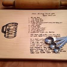 cutting board with recipe engraved personalized laser engraved bamboo cutting board recipe 9 x 12
