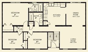 3 bedroom 2 bathroom house two house plans