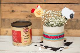 burlap covered centerpieces for a western party the american