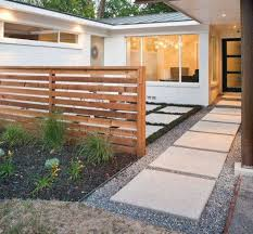 landscape modern house small front yard landscaping with
