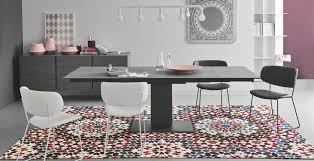 echo extendable dining table seats 10 calligaris la palm springs