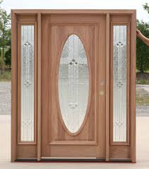 Exterior Wooden Doors With Glass by Wood Exterior Doors With Sidelights B 600 Builder