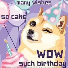 Corgi Birthday Meme - sale happy birthday doge instant download from franceillustration