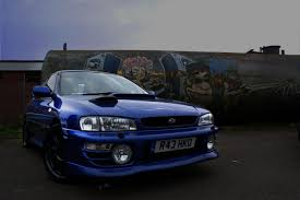tuned subaru subaru impreza blue cars tuning wallpaper allwallpaper in 2733