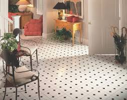 attractive black and white checkered vinyl flooring sheet