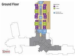 Princeton Housing Floor Plans Senior Living Floor Plans The Summit