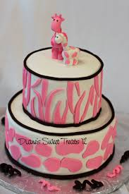 giraffe baby shower cake diane s sweet treats newington ct