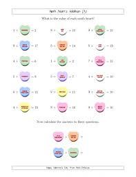 valentine coloring pages math worksheets 1st gr koogra