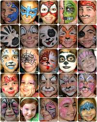 full face paint board face painting pinterest painted