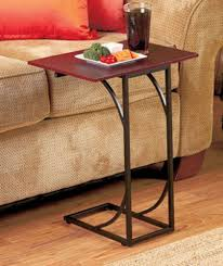 Iron Sofa Table by Side Sofa Table Accent Table End Eating Food Tray Sick Patient