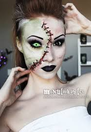 Beautiful Halloween Costumes 10 Frankenstein Makeup Ideas Frankenstein