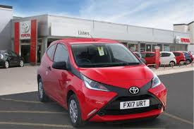 used toyota aygo red for sale motors co uk